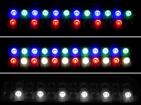 Архитектурный светодиодный светильник FWL 12-40-RGBW50-Г65/К30/К15