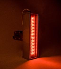 "Архитектурный светильник ""ШЕВРОН"" - SVT-ARH L-22-10x60-Red"