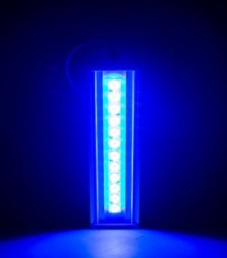 """Архитектурный светильник """"ШЕВРОН"""" - SVT-ARH L-37-20x50-Blue"""