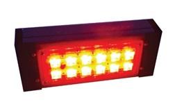"""Цветной прожекторный светильник """"ШЕВРОН"""" - SVT-Str P-S-20-27-Red-12VDC"""