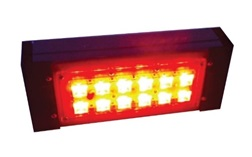 """Цветной прожекторный светильник """"ШЕВРОН"""" - SVT-Str P-S-20-30x120-Red-12VDC"""