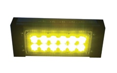"""Цветной прожекторный светильник """"ШЕВРОН"""" - SVT-Str P-S-30-30x120-Amber-12VDC"""