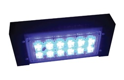"""Цветной прожекторный светильник """"ШЕВРОН"""" - SVT-Str P-S-30-27-Blue"""