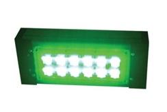 """Цветной прожекторный светильник """"ШЕВРОН"""" - SVT-Str P-S-30-30x120-Green-12VDC"""