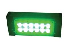 """Цветной прожекторный светильник """"ШЕВРОН"""" - SVT-Str P-S-30-30x120-Green-24VDC"""