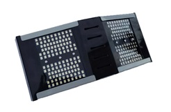 """Универсальный-тепломорозоустойчивый светильник """"ШЕВРОН"""" V-образный - SVT-Str U-V-150-400-TR-C"""