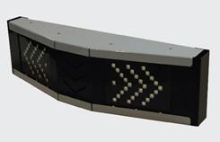 """Универсальный-тепломорозоустойчивый светильник """"ШЕВРОН"""" V-образный - SVT-Str U-V-75-250-TR-C"""