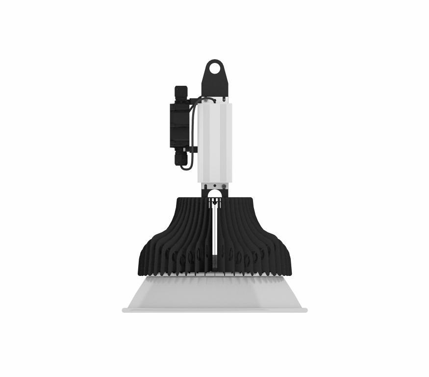 Подвесной светильник для промышленных помещений О2-Индастри-02-150-Д90