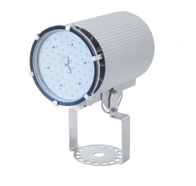Светильник промышленный на кронштейне ДСП  27-90-50-Д120