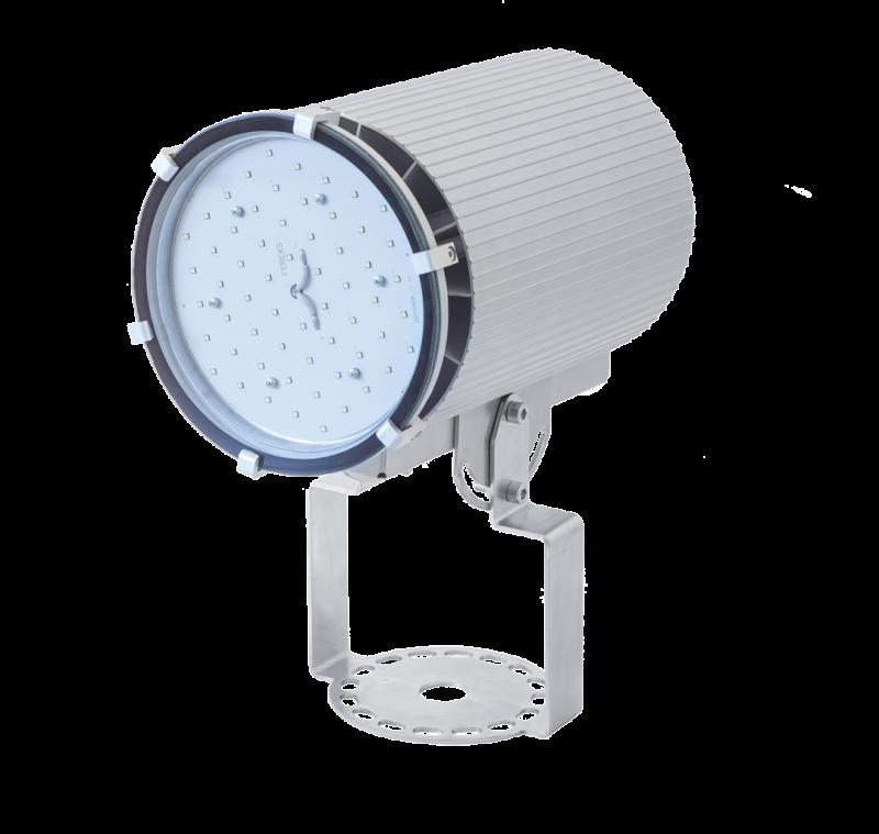 Светильник промышленный на кронштейне ДСП 27-70-50-Д120