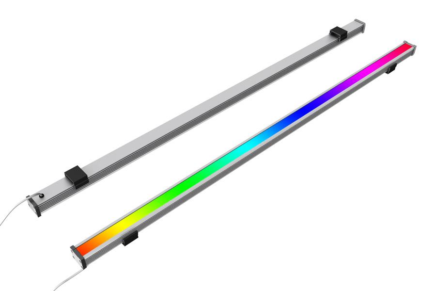 Светодиодный линейный RGB светильник SV-LBS-COMPACT-9-970-RGB-SPI-12V-16PIX