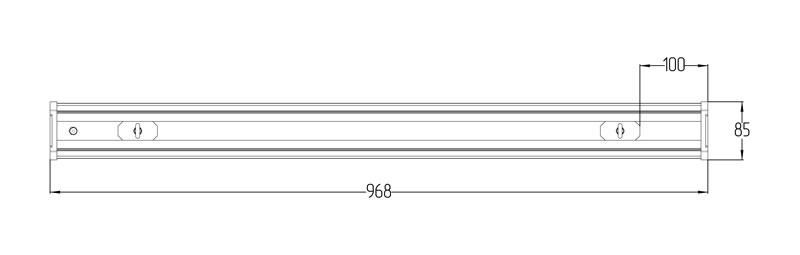Светодиодный промышленный светильник LGT-Prom-VegaLong-60