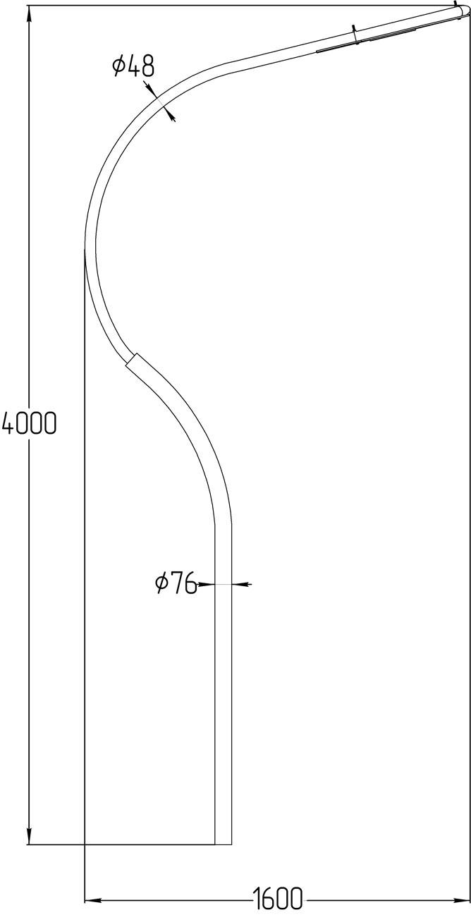 Светодиодный уличный светильник LGT-Street-Park-50