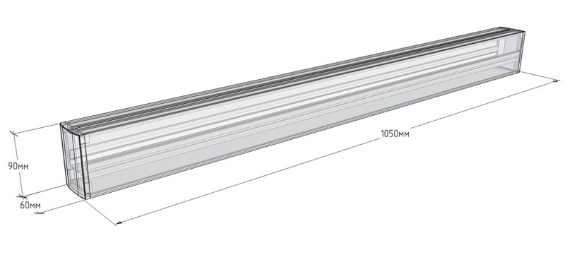 Светодиодный светильник LINER MAXUS-XS10