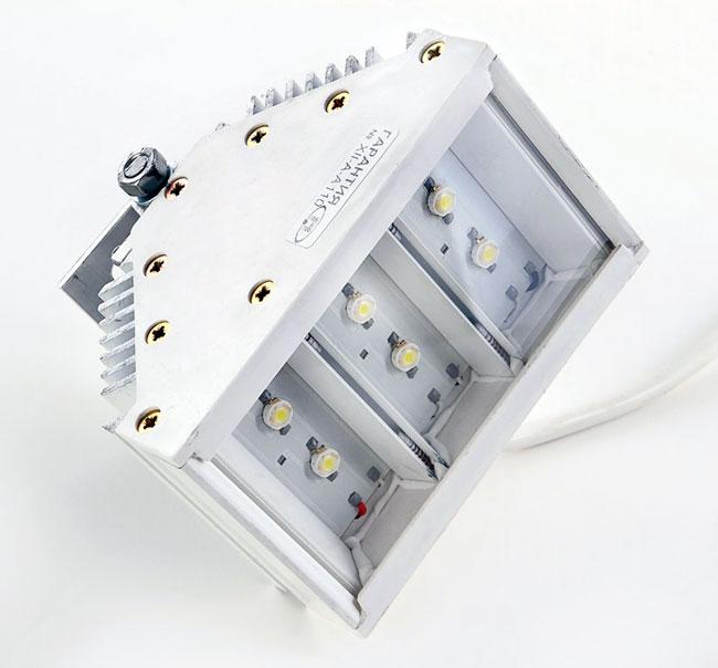 Прожектор светодиодный СЭС-01-6-Гелиос Архитектурный