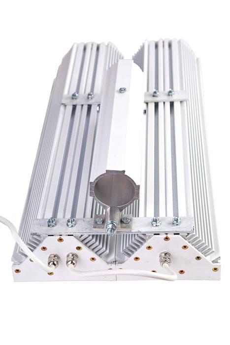 Уличный светильник с вторичной оптикой СЭС-01-90-Гелиос  HW