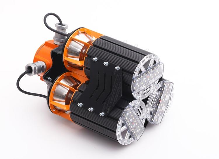 Светильник светодиодный взрывозащищенный с распределительной коробкой X-RAY 150 Ex