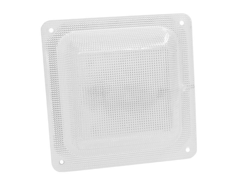 Светодиодный светильник ЖКХ квадрат микропризма 5 Вт - ViLED СС 05-Н-С-5-150.150.18-4-0-54