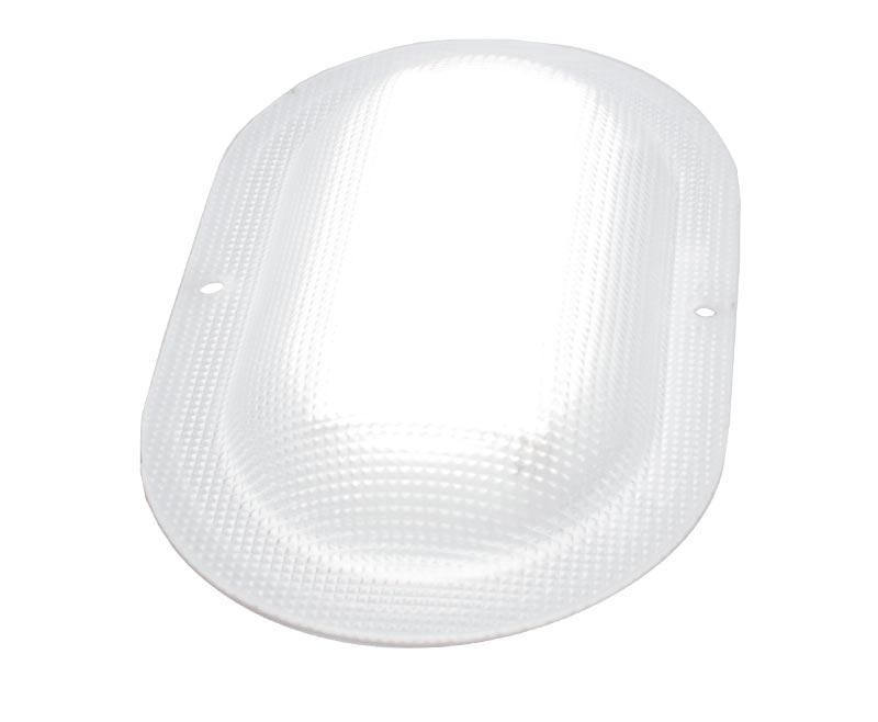 Светодиодный светильник ЖКХ овал микропризма 5 Вт - ViLED СС 05-Н-С-5-175.110.27-4-0-54