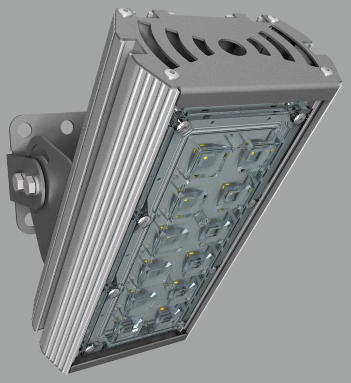 """Прожектор """"BM"""" с овальным лучом NEWLED.BM.27.55x135.5K.IP67"""