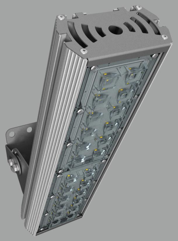 """Прожектор """"BM"""" с овальным лучом NEWLED.BM.54.30x120.5K.IP67"""
