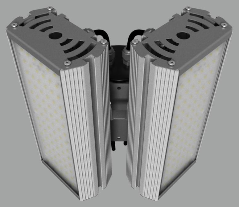 """Модульный светильник """"BM"""" с L-образным креплением NEWLED.BM.64.120.5K.IP67.L2C"""