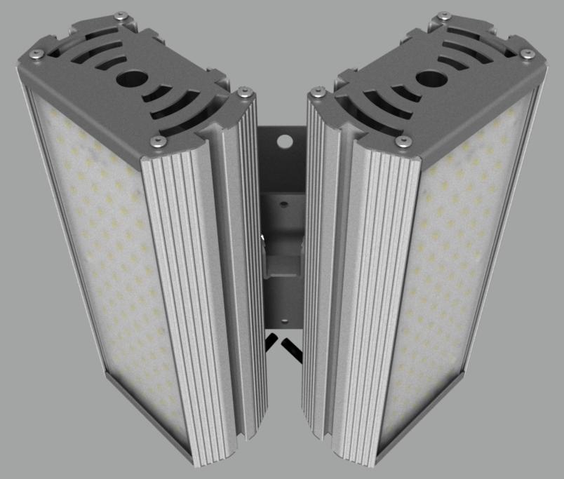 """Модульный светильник """"BM"""" с L-образным креплением NEWLED.BM.64.120.5K.IP67.L2"""