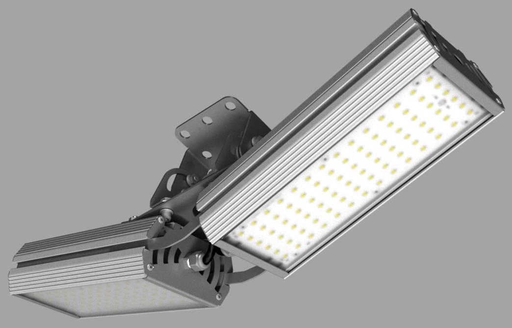 """Модульный светильник """"BM"""" с V-образным креплением NEWLED.BM.64.120.5K.IP67.V2"""