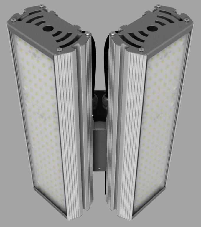 """Модульный светильник """"BM"""" с L-образным креплением NEWLED.BM.96.120.5K.IP67.L2C"""