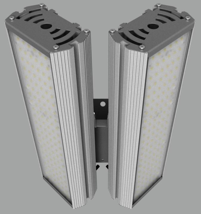 """Модульный светильник """"BM"""" с L-образным креплением NEWLED.BM.96.120.5K.IP67.L2"""