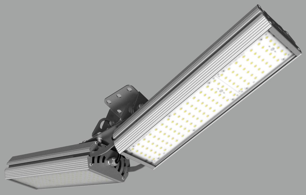 """Модульный светильник """"BM"""" с V-образным креплением NEWLED.BM.96.120.5K.IP67.V2"""