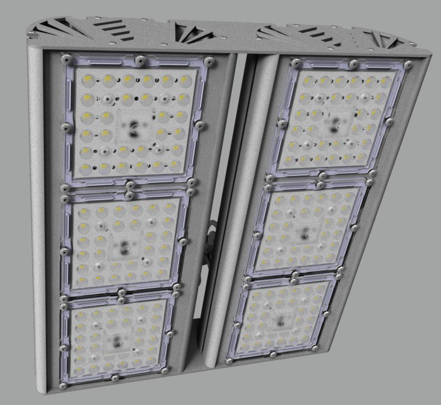 """Прожектор """"UM"""" с овальным лучом NEWLED.UM.200.45x140.5K.IP67.X2"""
