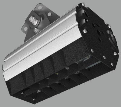 """Прожектор """"UMK"""" направленного света с противобликовой шторкой NEWLED.UMK-MW-B.40.60.5K.IP67"""