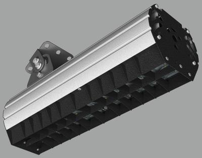 """Прожектор """"UMK"""" направленного света с противобликовой шторкой NEWLED.UMK-MW-B.80.60.5K.IP67"""