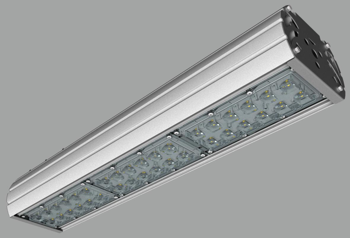 """Модульный светильник """"UMK"""" с консольным креплением NEWLED.UMK.120.120.5K.IP67.C"""