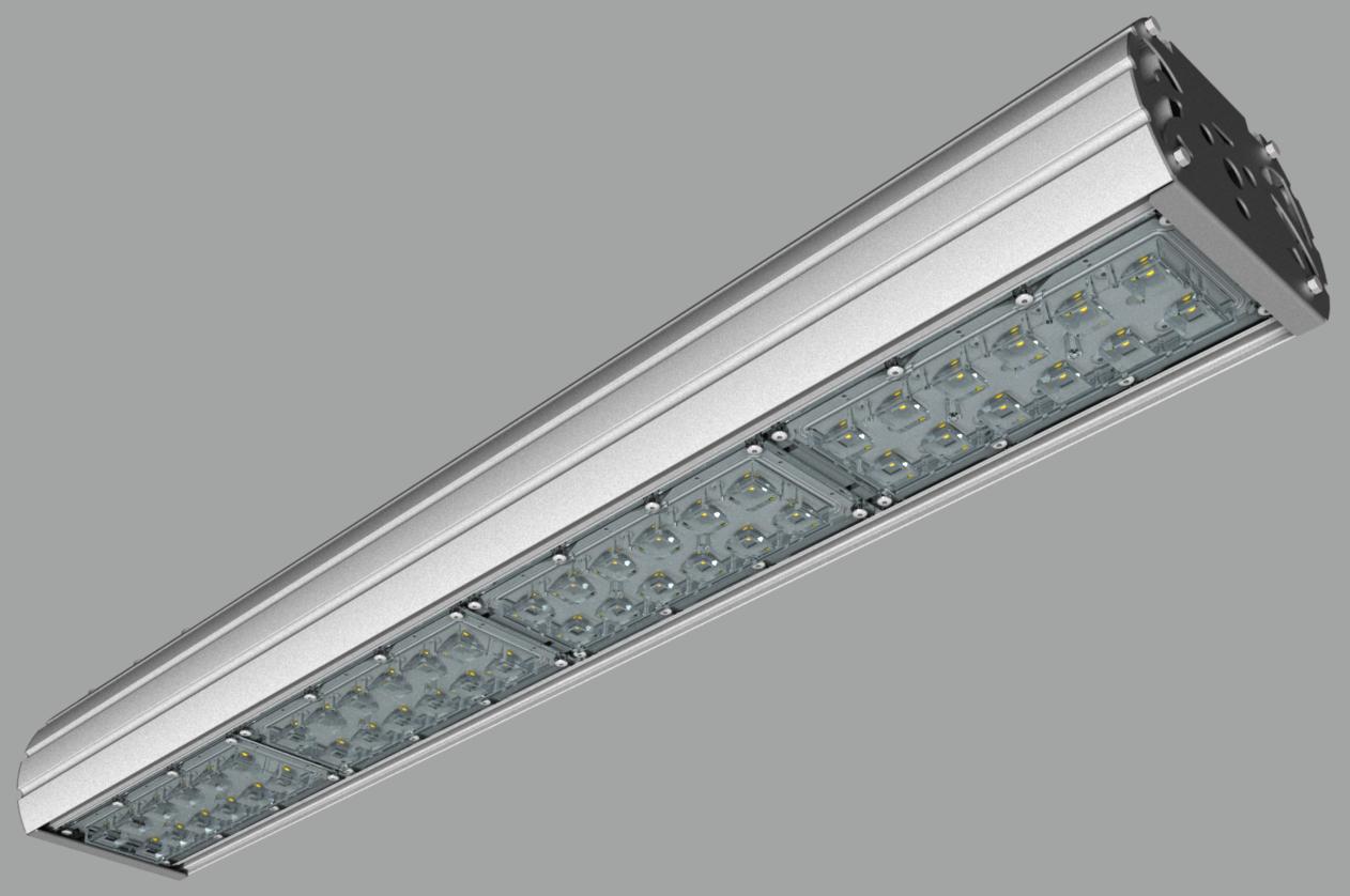 """Модульный светильник """"UMK"""" с консольным креплением NEWLED.UMK.160.120.5K.IP67.C"""