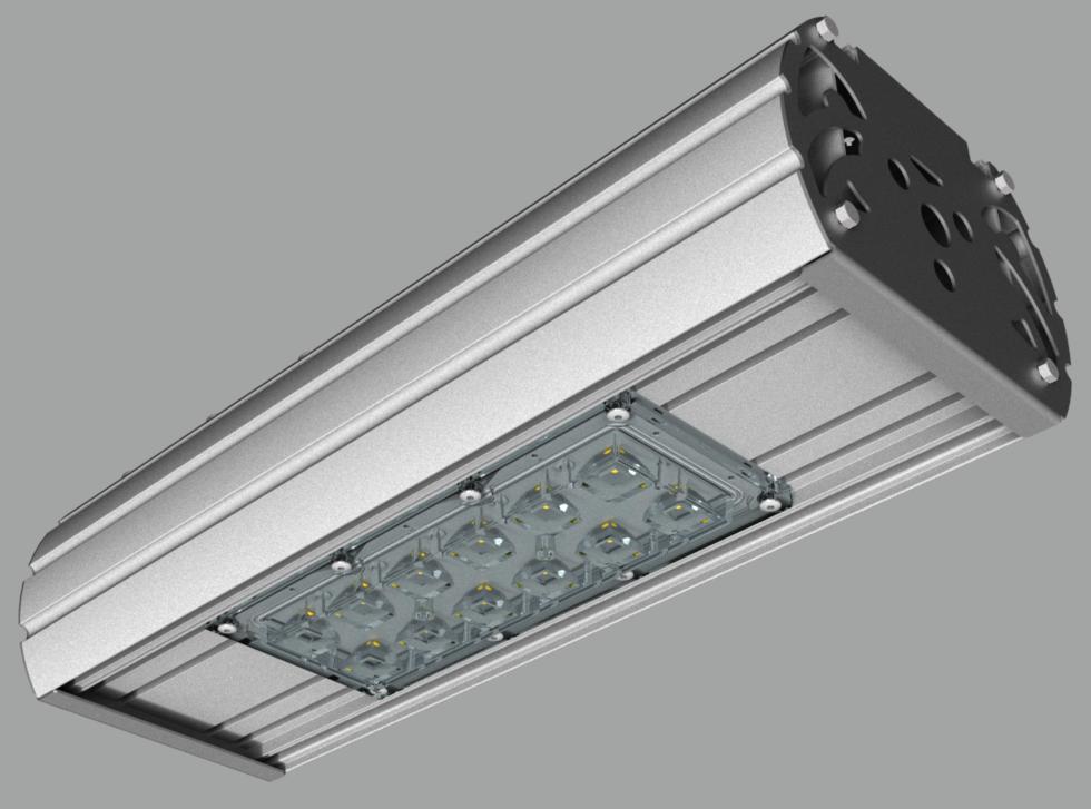 """Модульный светильник """"UMK"""" с консольным креплением NEWLED.UMK.40.120.5K.IP67.C"""