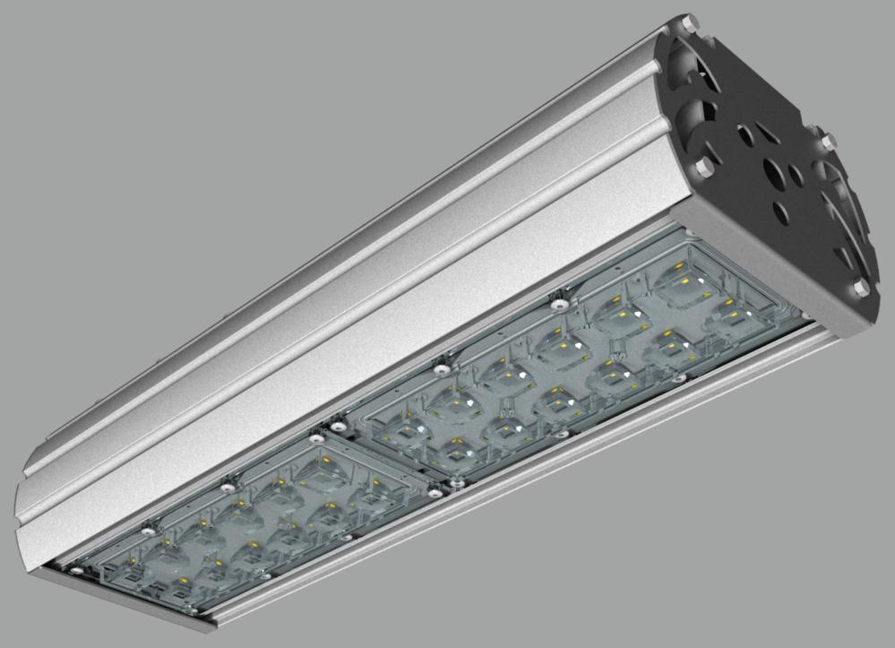 """Модульный светильник """"UMK"""" с консольным креплением NEWLED.UMK.80.120.5K.IP67.C"""